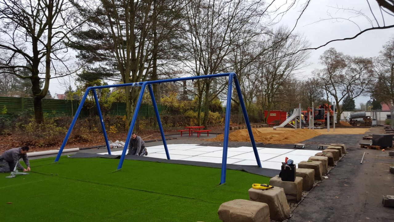 Trocellen ProGame Playground Installation in Bonn Germany