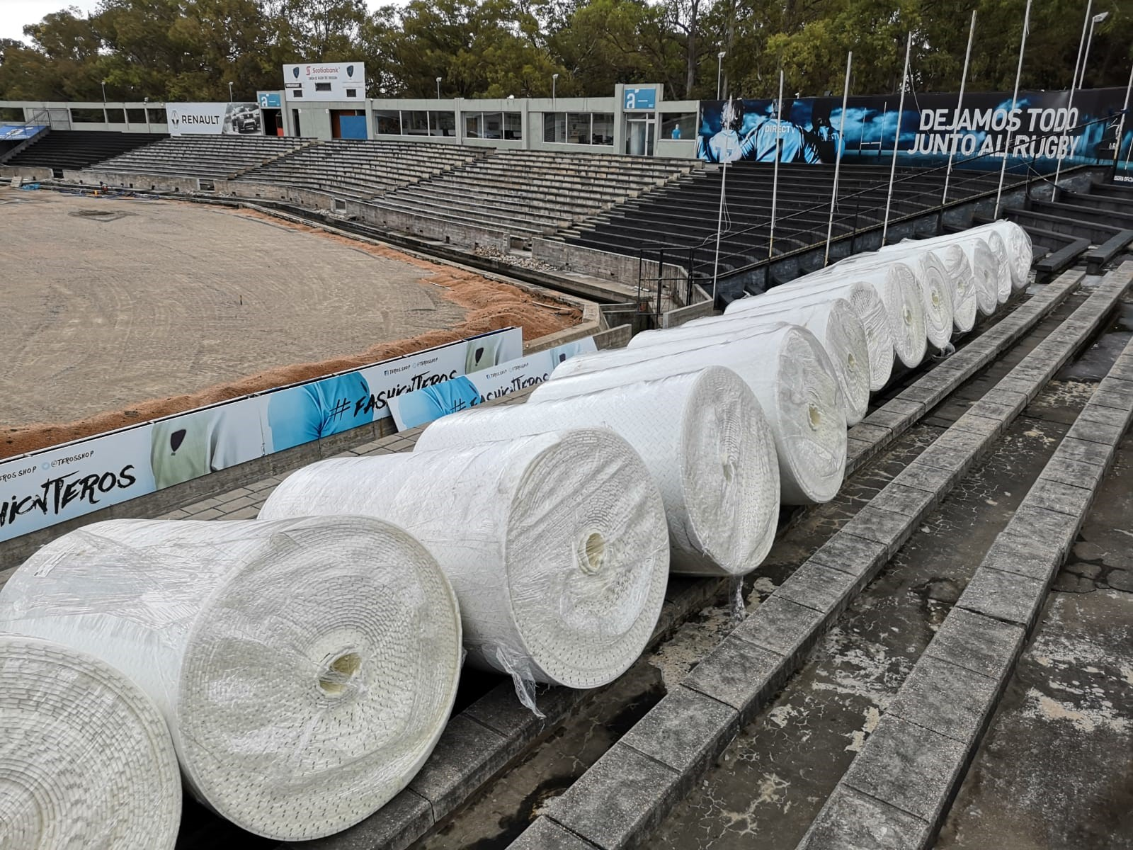 ProGame Shockpads used in Estadio Charrua for the Women's U17 FIFA World Cup.