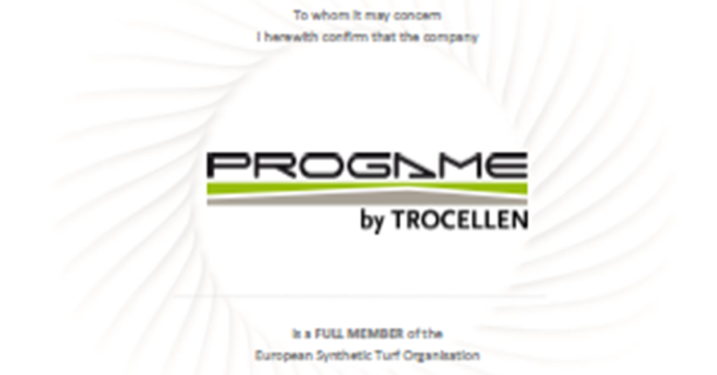 ProGame renewed the certification for 2018 with ESTO.