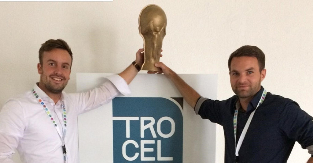 ProGame's team at Trocellen. Everyone is working hard to deliver the best possible experience.