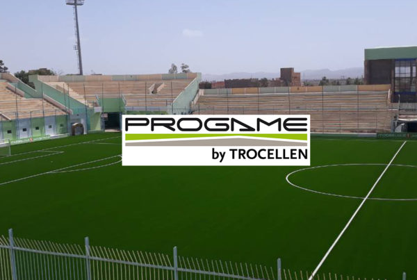 ProGame shock pads used in Bechar, which is home to the JS Saoura. They play in Algerian's first division.