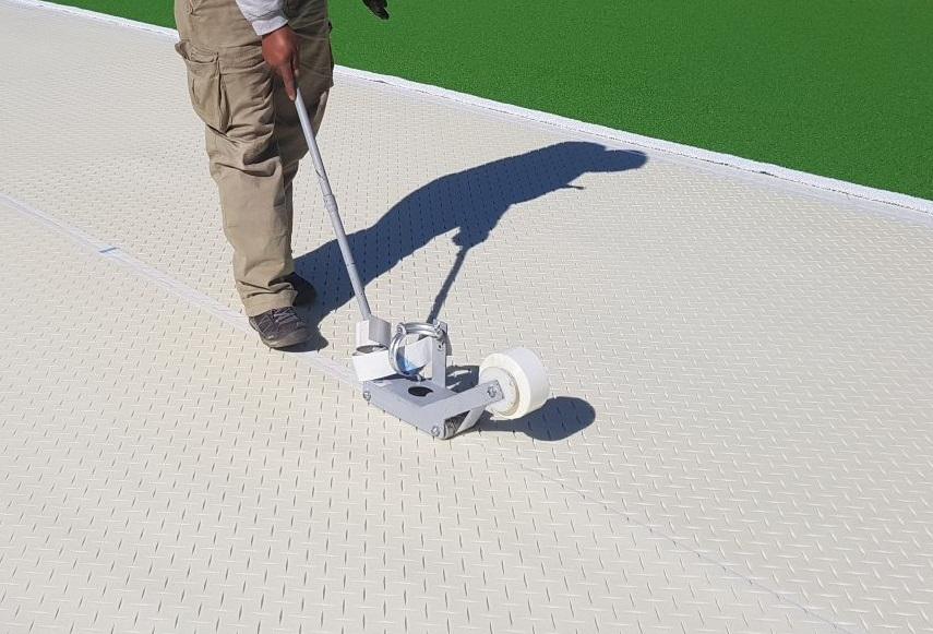 Trocellen ProGame Hockey Installation in Terassa Spain