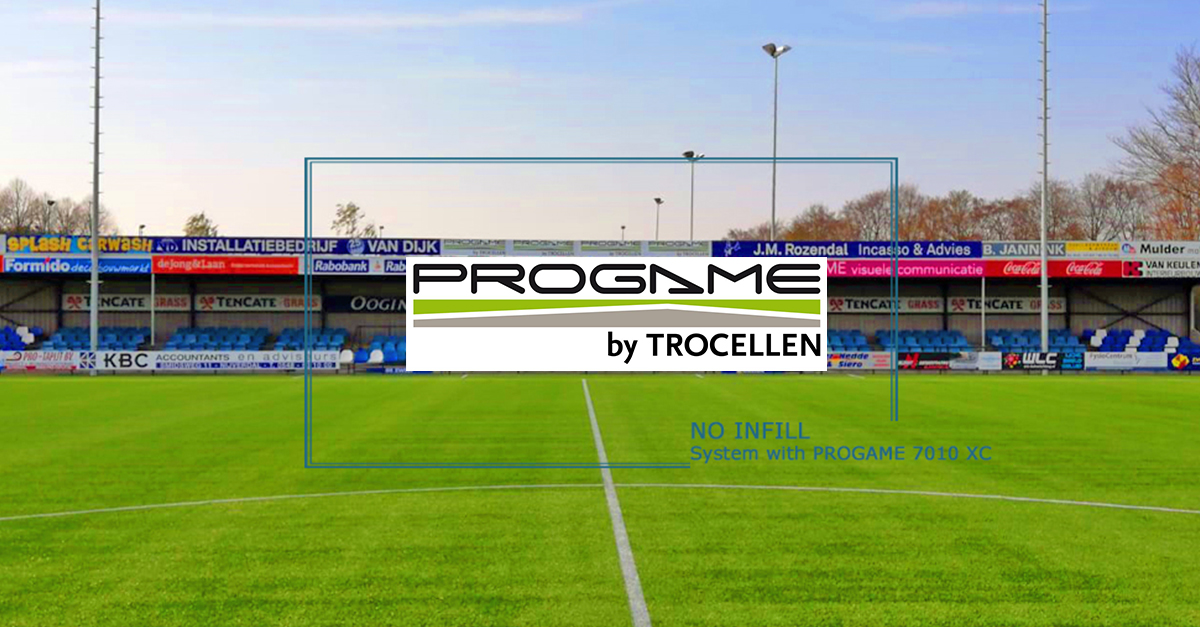 Football pitch from ProGame by Trocellen in Nijverdaal
