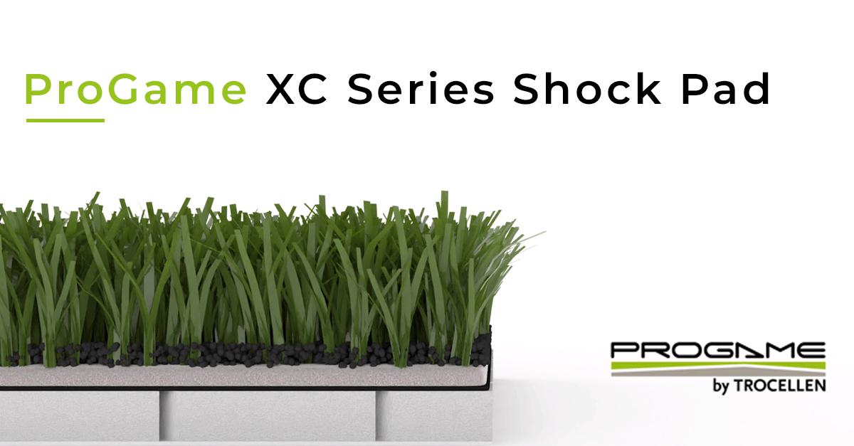 ProGame XC Series Shock Pad patented